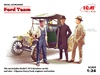 1:24 Ford Model T 1913 Roadster w/Henry Ford (Pre-Order)