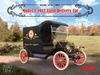 1:24 Ford Model T 1912 Light Delivery Car (Pre-Order)