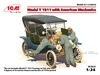 1:24 Ford Model T 1911 Touring w/American Mechanics (Pre-Order)