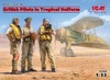 1:32 British Pilots in Tropical Uniform 1939-1943 (Pre-Order)