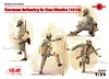 1:35 WWI German Infantry in Gas Masks, 1918 (Pre-Order)