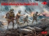 1:35 WWI British Infantry in Gas Masks 1917 (Pre-Order)
