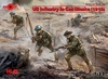 1:35 WWI US Infantry in Gas Masks 1918 (Pre-Order)