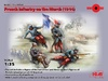 1:35 WWI French Infantry on the March 1914 (Pre-Order)