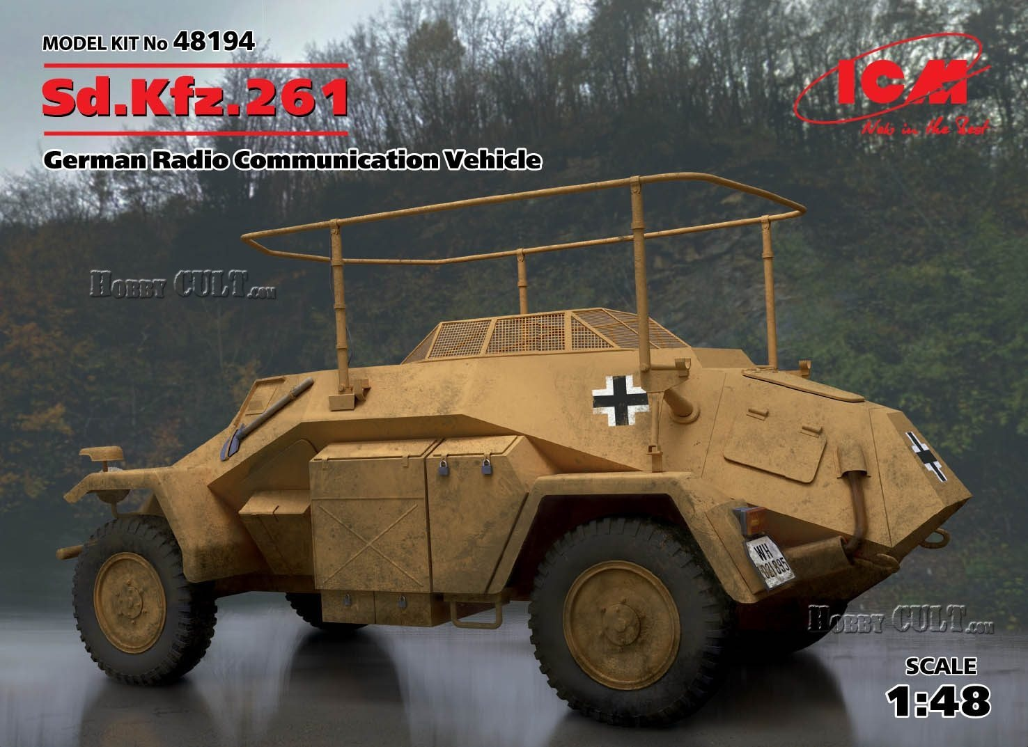 1:48 Sd.Kfz.261 Radio Communication Vehicle (Pre-Order)