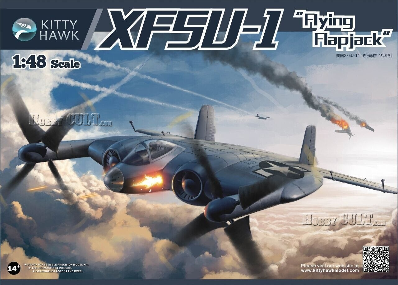 1:48 Vought XF5U-1 'Flying Flapjack'