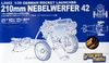 1:35 German 210mm Rocket Launcher Nebelwerfer 42