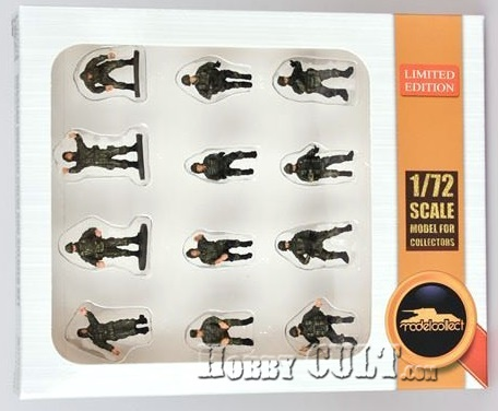 1:72 Russian Modern Crew & Soldiers Pre-Painted Set (Pre-Order)