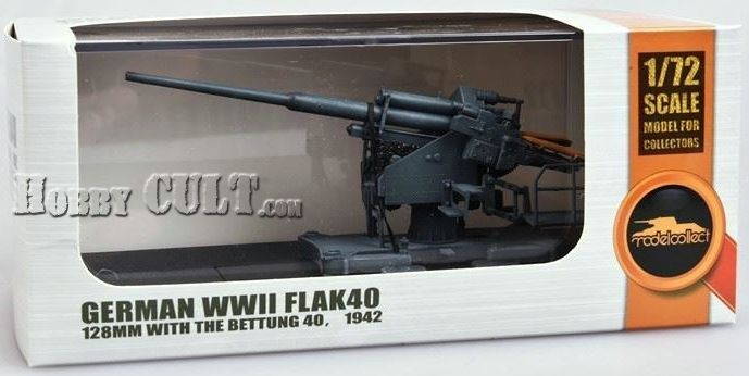 1:72 German 128mm Flak 40 w/Bettung 40, 1942 (Pre-Order)