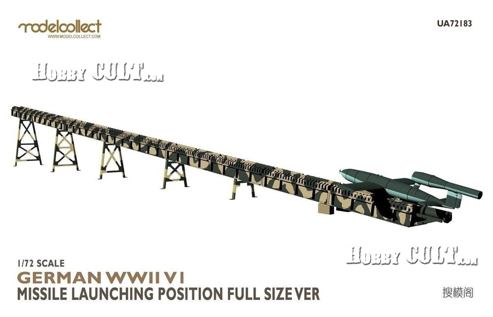 1:72 German V-1 Missile w/Full Size Launch Ramp (Pre-Order)