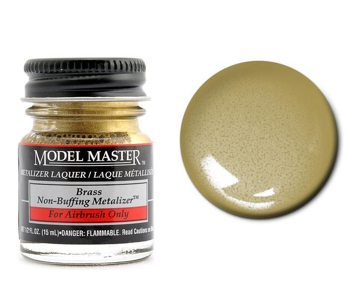 Brass (Non-Buffing Metalizer) - 15ml