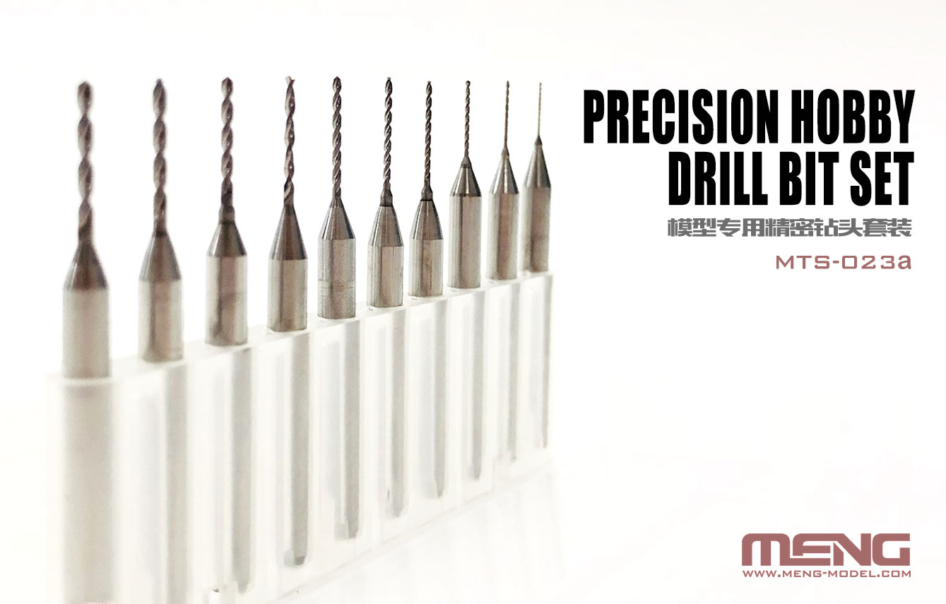Precision Hobby Drill Bit Set (Pre-Order)