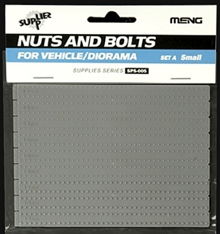1:35 Nuts & Bolts - Set A Small (Pre-Order)