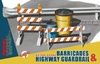 1:35 Barricades & Highway Guardrail (Pre-Order)