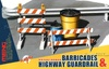 1:35 Barricades & Highway Guardrail