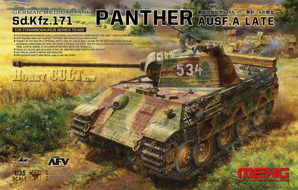 1:35 Sd.Kfz.171 Panther Ausf.A (Late Production) (Pre-Order)