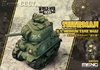 World War Toons - US Medium Tank M4A1 Sherman (Pre-Order)