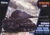 World War Toons - German King Tiger (Porsche Turret) (Pre-Order)