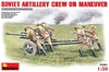 1:35 Soviet Artillery Crew on Maneuver w/ZiS-3 Anti-Tank Gun