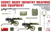 1:35 Soviet Heavy Infantry Weapons & Equipment WWII