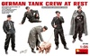 1:35 German Tank Crew at Rest WWII (Pre-Order)