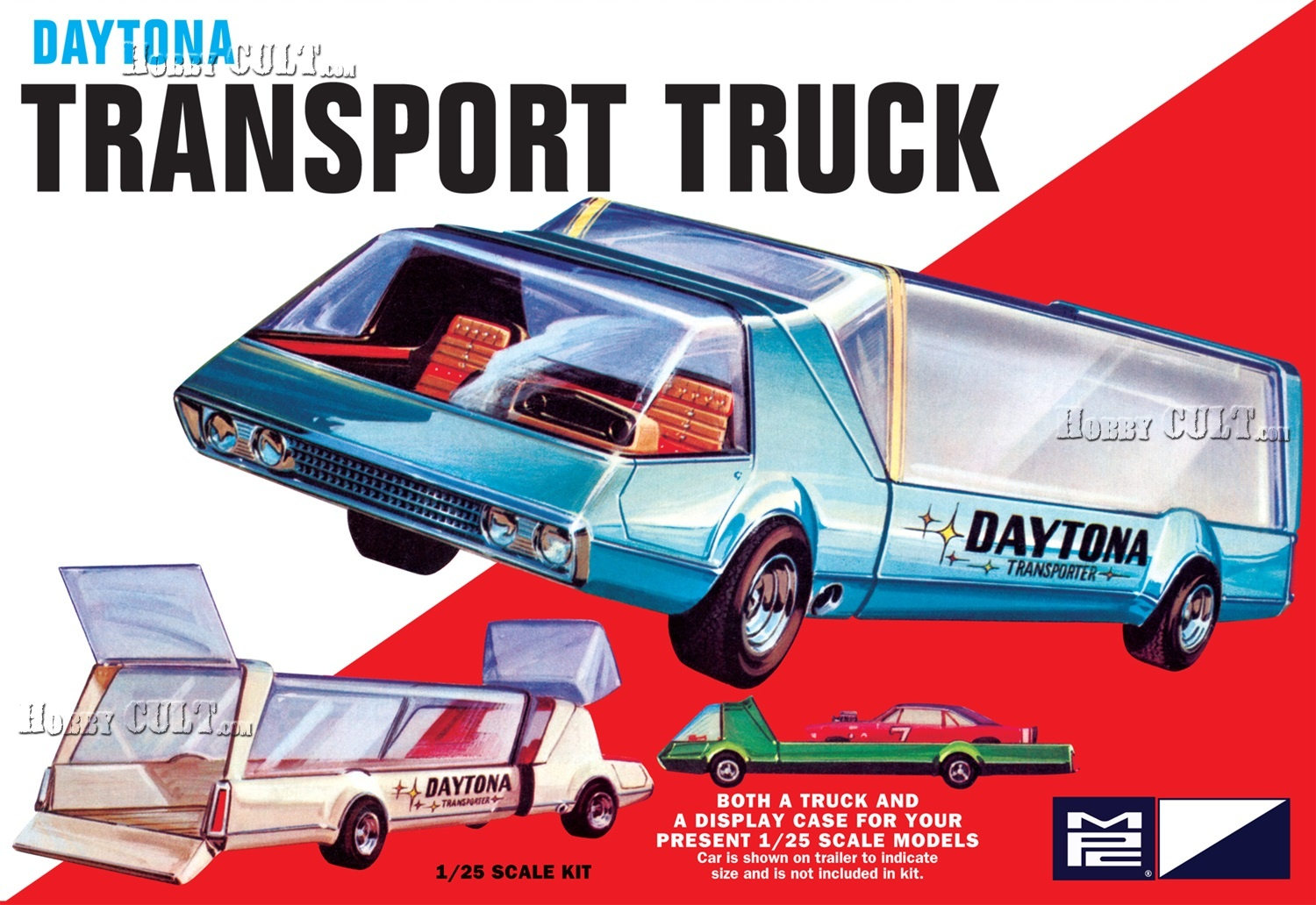 1:25 Daytona Transport Truck (2 in 1)