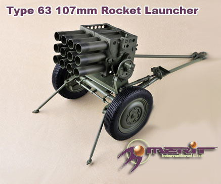 1:6 Type 63 107mm Rocket Launcher - Finished Model (Pre-Order)