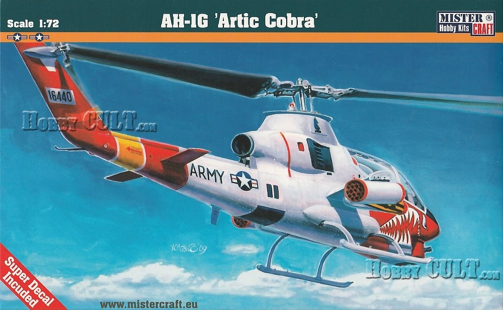 1:72 Bell AH-1G 'Artic Cobra'