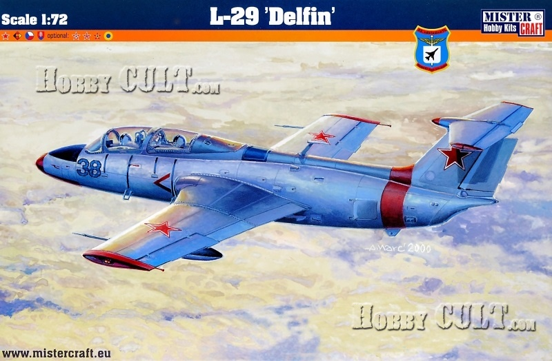 1:72 Aero L-29 Delfin (Bulgarian Markings)
