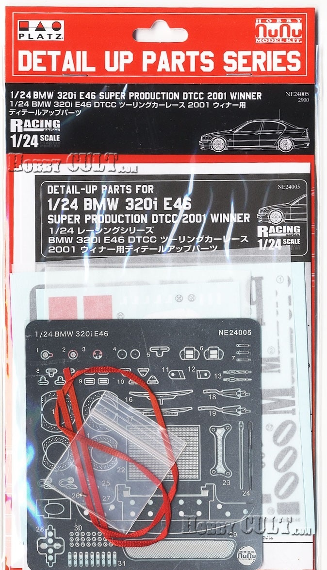 1:24 BMW 320i E46 DTCC Winner Detail-Up Parts (Pre-Order)