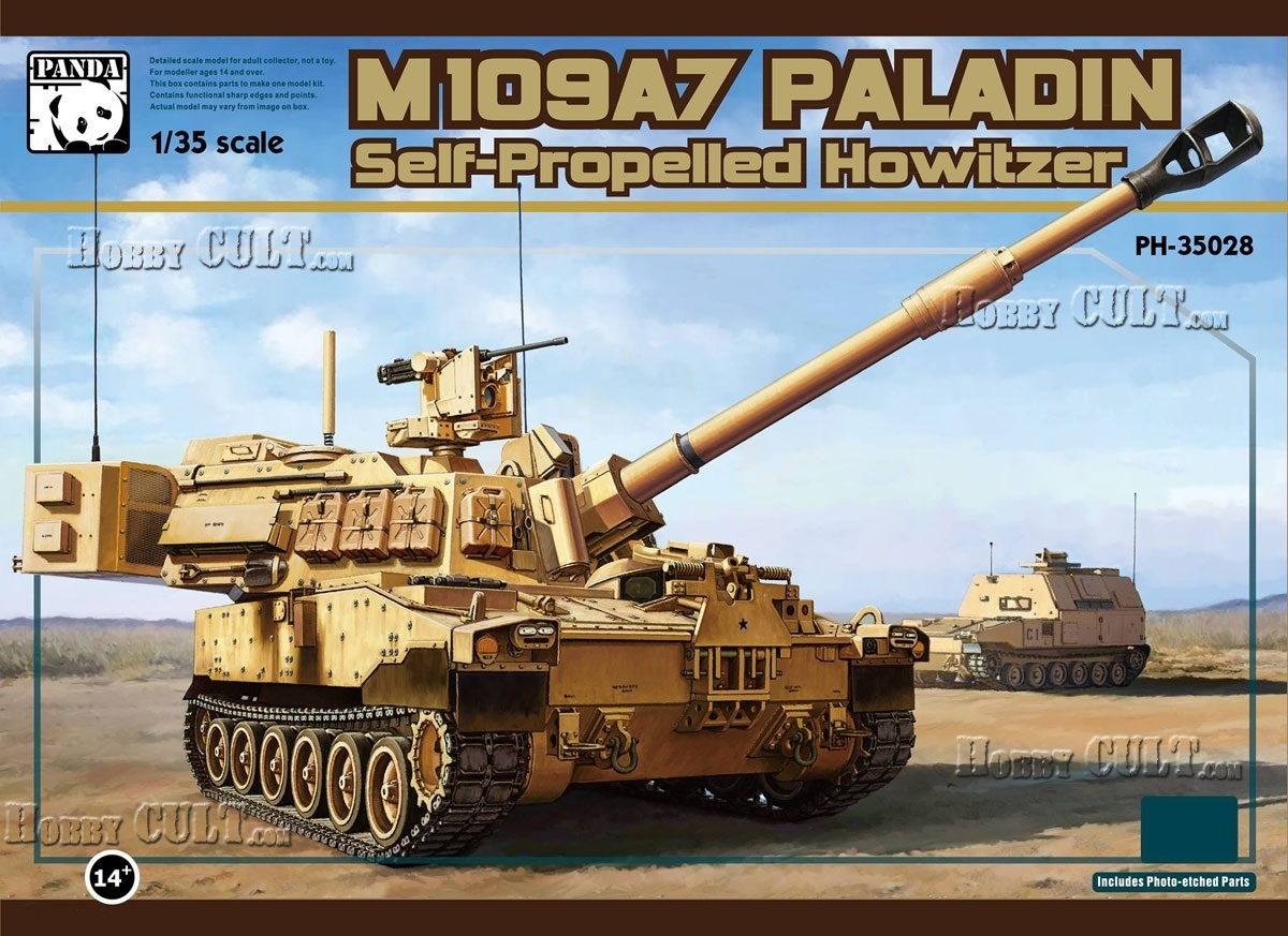 1:35 Self-Propelled Howitzer M109A7 Paladin (Pre-Order)