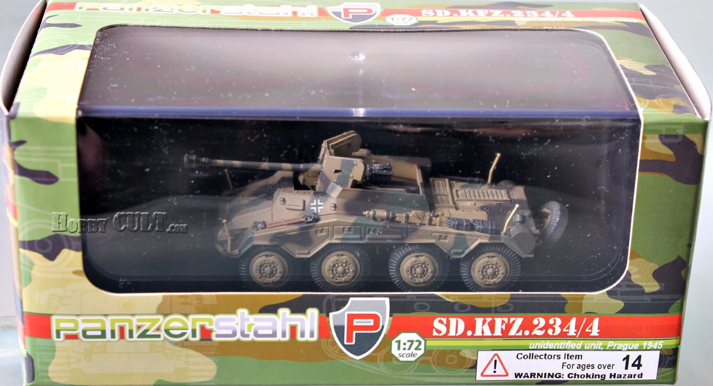 1:72 Sd.Kfz.234/4, Unidentified Unit, Prague, 1945