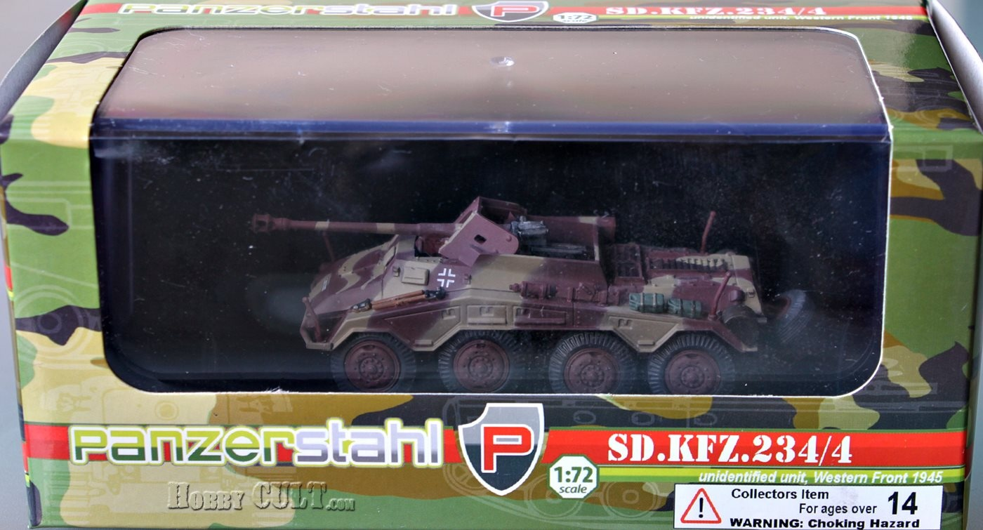1:72 Sd.Kfz.234/4, Unidentified Unit, Western Front, 1945