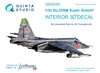 1:32 Su-25SM 3D-Printed & coloured Interior on decal paper (for
