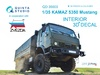 1:35 KAMAZ 5350 Mustang Family 3D-Printed & coloured Interior on