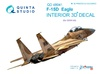 1:48 F-15D 3D-Printed & coloured Interior on decal paper (for GW