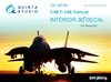 1:48 F-14A 3D-Printed & coloured Interior on decal paper (for Ta