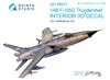 1:48 F-105G 3D-Printed & coloured Interior on decal paper (for H