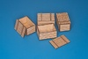 1:35 Natural Wood Boxes (original 50cm x 33cm x 28cm) (4 pcs)
