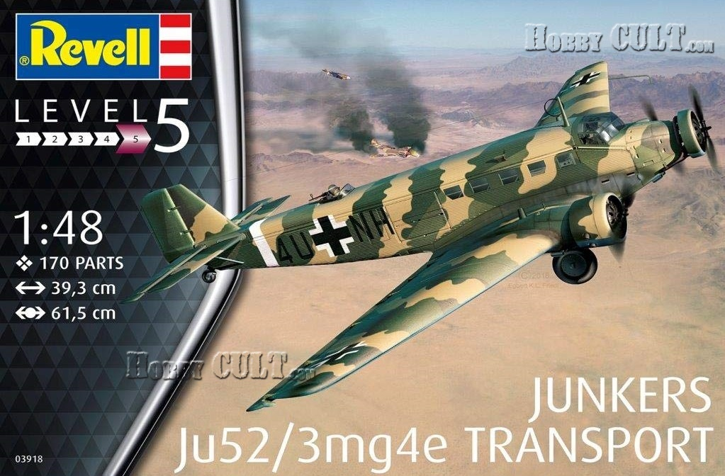 1:48 Junkers Ju-52/3mg4e Transport