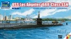 1:350 U.S.S. Los Angeles SSN-688 w/DSRV-1 (3 in 1) (Pre-Order)
