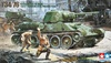 1:35 Russian Tank T-34/76 ChTZ Version 1943 w/DShK Gun 1938