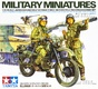 1:35 JGSDF Kawasaki KLX250 Motorcycle Recon Set (2 Figures)