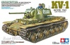 1:35 Russian Heavy Tank KV-1 Model 1941 Early w/Figure