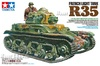 1:35 French Light Tank Renault R35 w/Commander Figure