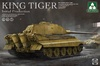 1:35 Sd.Kfz.182 King Tiger Initial Production (4 in 1)(PreOrder)