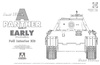 1:35 Panther Ausf.A (Early) w/Full Interior (Pre-Order)
