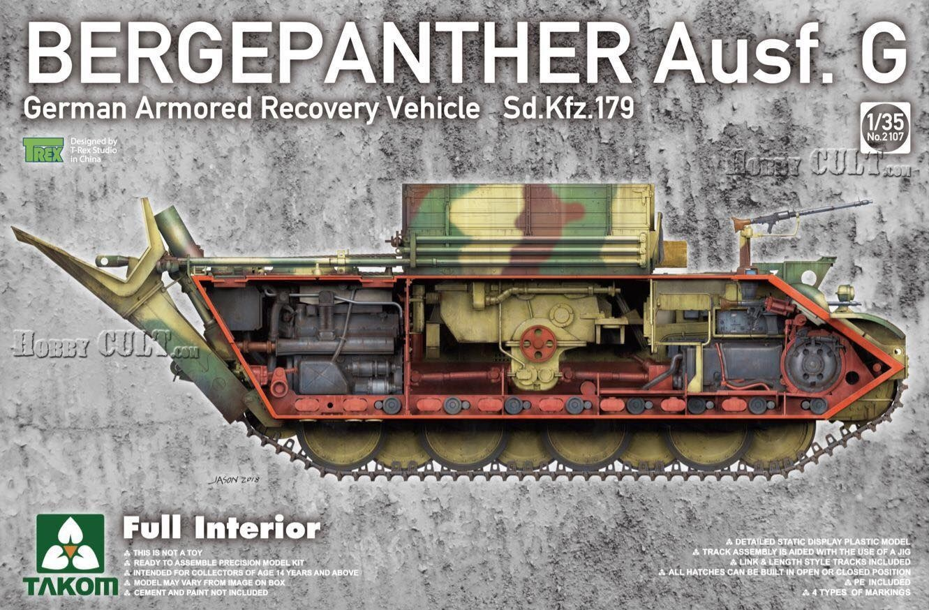 1:35 Sd.Kfz.179 Bergepanther Ausf.G w/Full Interior (Pre-Order)