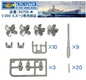 1:200 U.S.S. Missouri & Iowa Warship Upgrade Set (Pre-Order)