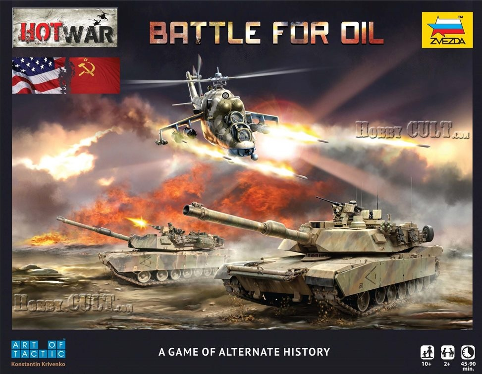 Hot War 'Battle for Oil' (Historical Wargame)